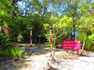 Maya Beach Rental, lush environment on the Placencia Peninsula